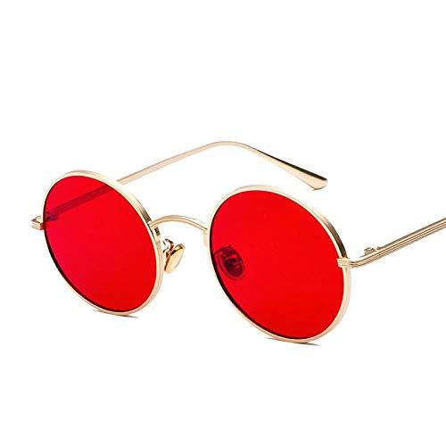 Metal Round Frame Sunglasses Women Fashion Retro Punk Sunglasses Man Harajuku Style Personality Sun Eye