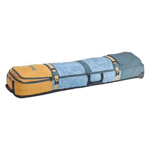 evoc Snow Gear Roller 195cm 155 Litre Snowboard Luggage Bag X Large Multicolour