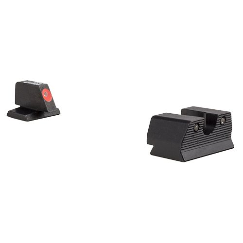 Trijicon FN603-C-600891 HD XR Night Sight Set, Fnh FNX-45 & Fnp-45, Orange Front Outline Lamp