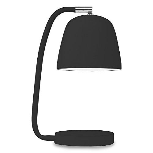 It's about RoMi NEWPORT Lampe à poser, Fer, E14, 40 W, Noir