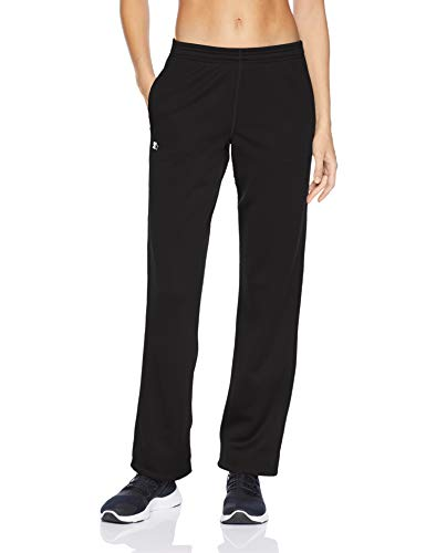 Starter Women's AUTHEN-TECH Fleece Sweatpants, Amazon Exclusive, Black, XS
