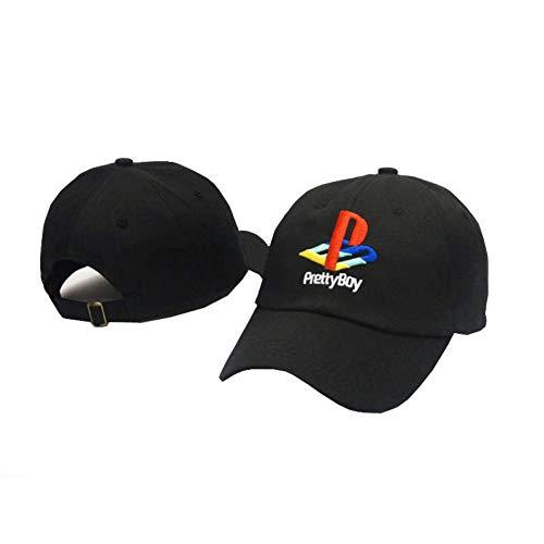 DGFB Hübscher Junge Baseball Cap Playstation Hut Verstellbarer Hysteresenhut Strapback Papa Hüte Männer Frauen Hut Knochen Masculino Hip Hop