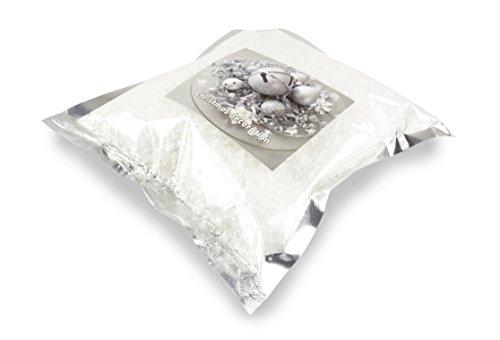 Helmecke & Hoffmann * Kunstschnee Dekoschnee im Beutel | 80 g Kunststoffflocken