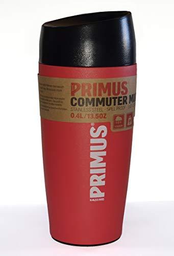 Primus, Autobecher, Edelstahl, Rot, 400 ml