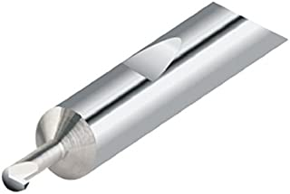 0.260 Minimum Bore Diameter 1.000 Maximum Bore Depth 0.150 Projection Solid Carbide Tool 2.5 Overall Length 0.2500 Shank Diameter Micro 100 UP-25030-16 Right Hand Undercut and Profile Grooving Tool 0.030//.032 Groove Width