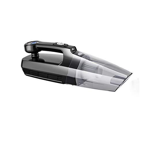 Aspiradora de coche 4 en 1 Carga inalámbrica Carpeta de aire Air Bomba de aire Multifunción Potente automóvil Auto COMPRESOR DE AIRE DE AERO Limpiar al polvo (Color : Wireless Digital)