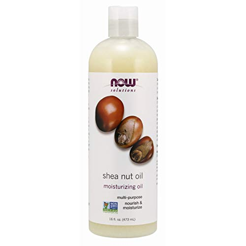 NOW Solutions Shea Nut Oil MultiPurpose Intense Moisturizing Oil for Skin Scalp and Hair 16Ounce