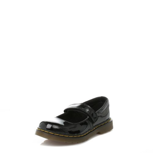Dr. Martens Maccy Mary Jane (Little Kid),Black Patent,10 UK(11 M US Little Kid)
