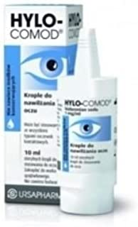 Hylo-Comod Moisturizing Eye Drops 10 ml Premium Quality