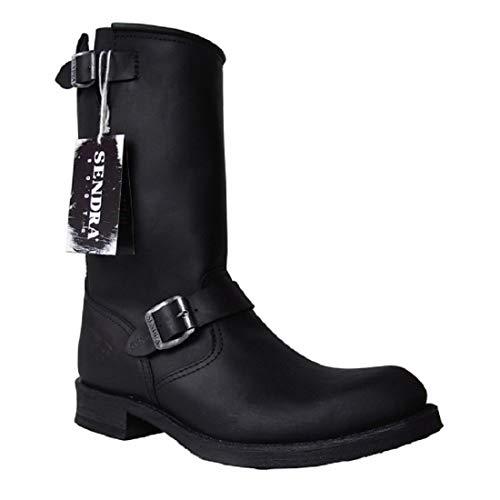 Sendra Boots 2944m schwarz Gr. 42 * incl. original Mosquito ® Stiefelknecht *