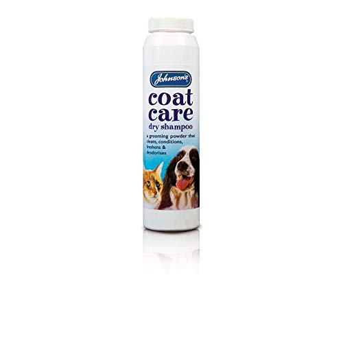Johnsons Vet Coatcare droogshampoo trommel, 85 g