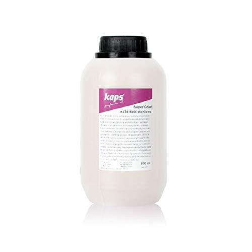 Kaps Tinte para Cuero Natural y Sintético y Textiles, Super Color, 82 Colores Estándar y...