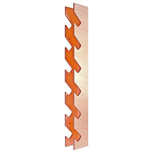 Wandhalterung aus Holz für Fausthantel, Kurzhantel, Fitness, Bodybuilding, Gymnastik, Gewichte