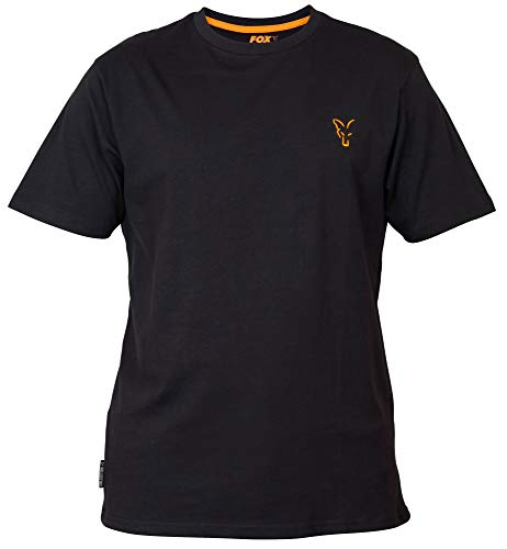 Fox Collection T-shirt noir/orange : XL