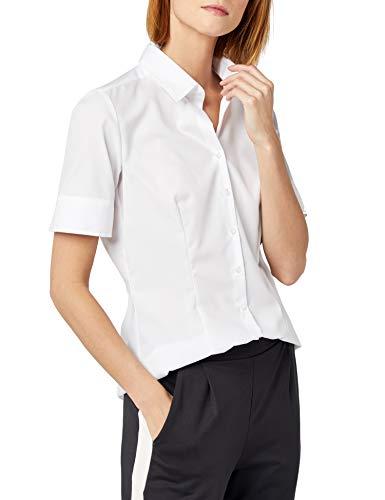 Seidensticker Damen Bluse , Weiß (01), 38