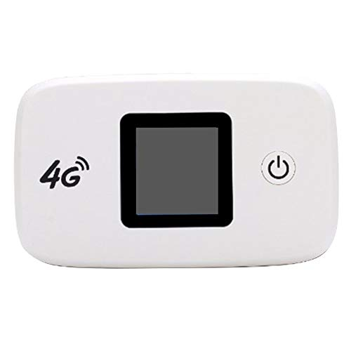Wivarra Enrutador InaláMbrico 4G LTE Desbloqueado 150 Mbps Enrutador WiFi de Viaje Exterior 3G / 4G Soporte de Punto de Acceso WiFi MóVil LTE FDD B1 / B3 / B5