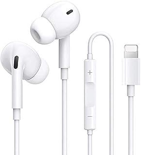 【2021最新進化版】iPhone イヤホン 有線イヤホン 純正 高音質 iPhone12/11/7/7P/8/8P/X/XS/XR/XS Max/iPad/ipod対応 音量調節 通話可能 新品 リモコン/マイク付き ステレオイヤフォン