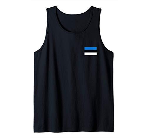 Estland Flagge Eesti Estnische Flaggen Geschenk Herren Damen Tank Top