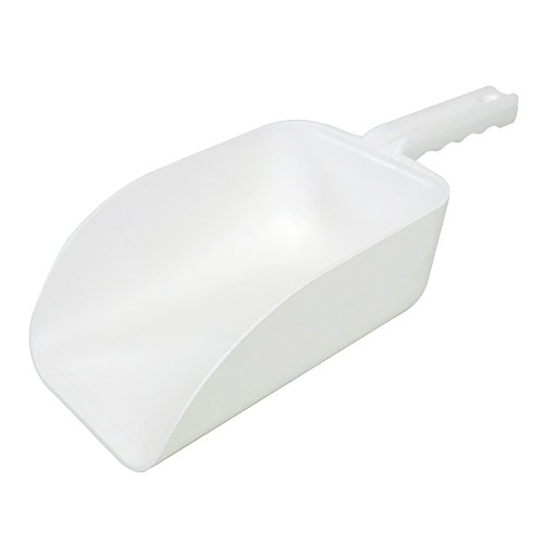UltraSource 82 oz. Large Plastic Utility Scoop for Ice Machine, Dog Food, Feed, Dry Goods, and more, NSF Scoop