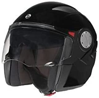 Can-Am ST-1 Motorcycle Helmet Hybrid Black DOT Certified Size Medium/Large