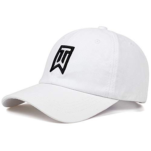 Huseki Tiger Logo Woods Custom Baseball Cap Hip Hop Cap Adjustable Snapback Flat Bill Ash Natural