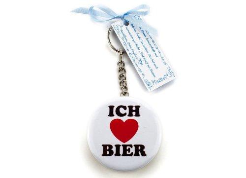Ringelsuse Bieröffner Flaschenöffner Schlüssel-Anhänger Ich Liebe Bier