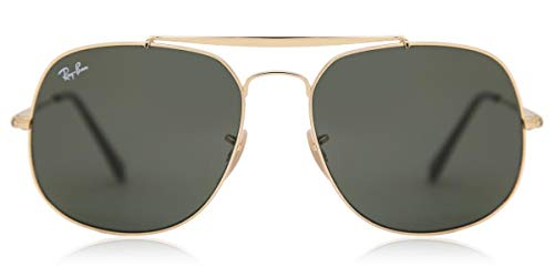 Ray-Ban RB3561 - THE GENERAL - 57, RB3561 - THE GENERAL 001 GOLD, NORMAL, CABALLERO