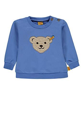 Steiff Steiff Baby-Jungen 1/1 Arm Sweatshirt, Blau (Marina|Blue 3056), 62