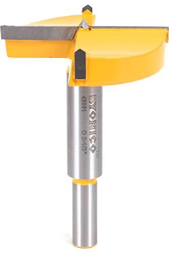 Yonico 43061C 2-1/2-Inch Diameter Carbide Forstner Drill Bit 10mm Shank