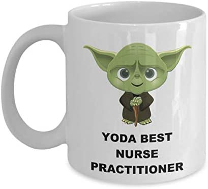 Yoda Best Nurse Practitioner Mug Birthday Christmas Party Novelty Gifts For Employee Staff Coworker product image