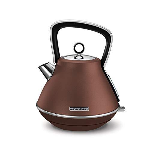 Morphy Richards Wasserkocher Braun 100101 Evoke Special Edition-Hervidor de Agua, Color marrón,...