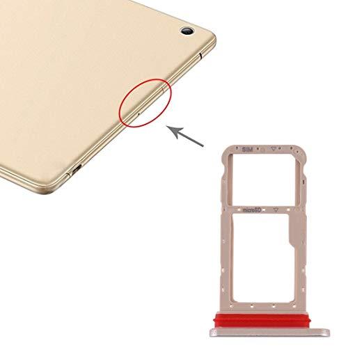 BEIJING  SIMSDCARDTRAY+ / Bandeja de Tarjeta SIM + Bandeja de Tarjeta Micro SD for Huawei Honor Pad 5 10.1 AGS2-AL00HN, Piezas de Repuesto para teléfonos Inteligentes (Color : Negro)