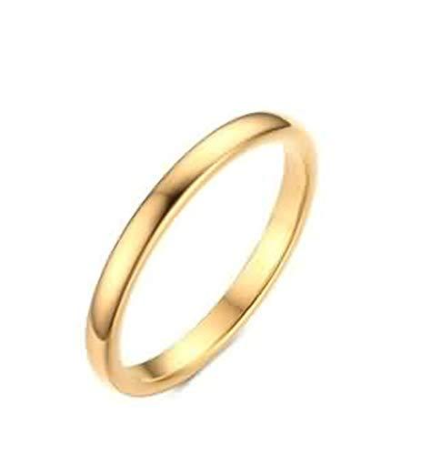 ANAZOZ wolfraamcarbide stalen ringen voor dames, bruiloft, ringen hooggepolijst, A1381