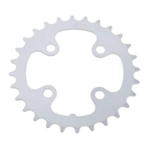 Almencla de Bicicleta 64 Cadena BCD con 4 Pernos para Bicicleta de Montaña BMX
