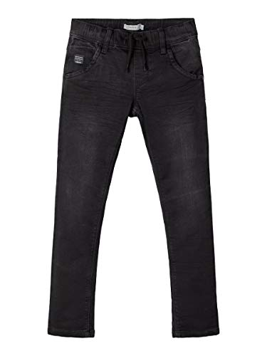 NAME IT Herren Jeans Regular Fit Sweatdenim 146Black Denim