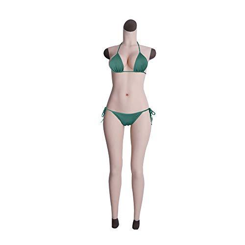 Cyomi Silikon-Anzug mit künstlicher Brüste und Vagina Silikonbrüste Crossdresser Transgender Transvestiten Drag Queen einteilig männlich Ganzkörper Silikonbrustprothese - 4. Generation