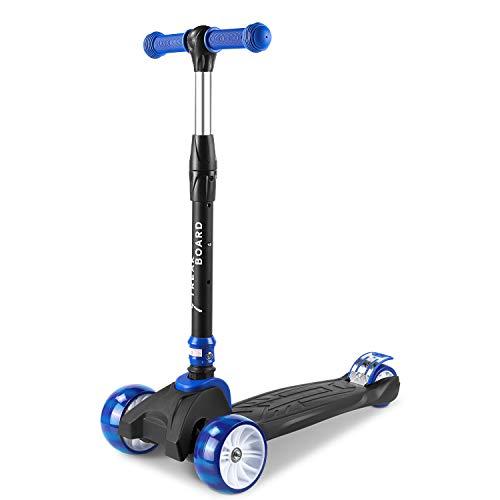 streakboard Scooter Kinder für 3-8 Jahren, Dreiradscooter, Kickboard, Kinderroller...