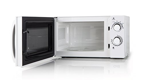 Orbegozo MI 2015 - Microondas sin grill, 700 W de potencia, 20 L, 6 niveles de funcionamiento, 230V, 50 Hz. blanco, 45.2 x 26.2 x 34.5 cm