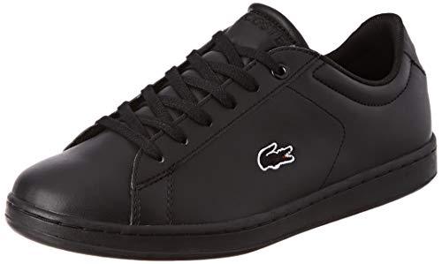 Lacoste Unisex-Kinder Carnaby Evo Bl 3 Suj Sneaker, Schwarz (Blk/Blk 02h), 35 EU