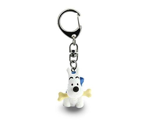 Le porte-clé Milou pour fan de Tintin