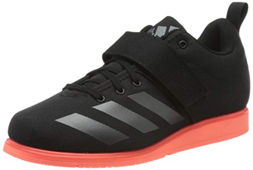 adidas Powerlift 4, Zapatillas para Hombre, Core Black/Night Met./Signal Coral, 45 1/3 EU