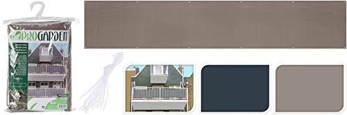 Toile d'ombrage pour balcon 75 x 44 cm Accessoires d'ameublement extérieur terrasse