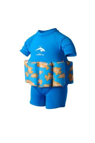 Konfidence Float Suit Badeanzug integrierter Auftrieb Clownfish 2-3 Jahre 15-18 kg NEU Schwimmhilfe für optimale Armfreiheit