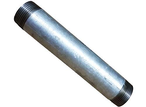 1 1/4 Zoll Stahlrohr verzinkt 20 cm_- = -_ Auch Temperguss Kreutzstück Rohrbogen T-Stück Reduziermuffe Doppelnippel Stopfen Rückschlagventil Kugelhahn zum Brunnenbau bei uns!