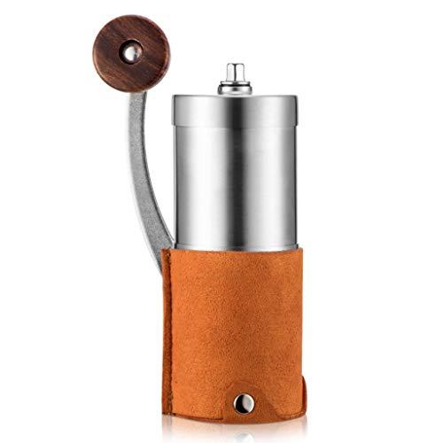 Yuqianjin Handmatige koffiemolen met conische braam – handbrander koffiemolen met instelbare instelling – handkrank koffiemolen, Franse pers, druppel, koude en Turkse brouwsel