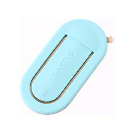 KAKTUS Smartphone KFZ Lüftung Halterung, Fingerhalter,Selfihalterung, Universal Handyständer Griff, Blau