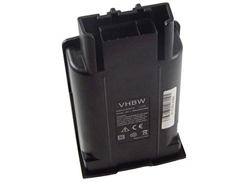 vhbw Batería Li-Ion 1500mAh (18V) para escobas eléctricas, máquinas barredoras Kärcher KM35/5,...