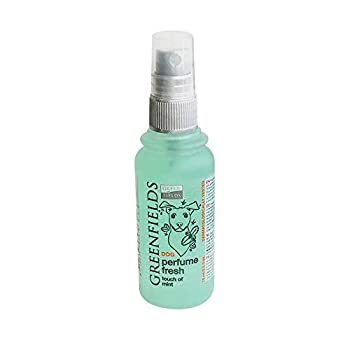 Greenfields Parfum pour Chien, Eau De Cologne pour Chien, Spray Déodorant pour Chien - Fresh - 75ml pour Chien Fresh Vert