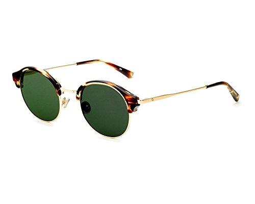 Etnia Barcelona Gafas de Sol GRUNWALD SUN Striped Brown/Green Hd 49/23/140 unisex