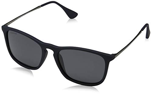 Sunoptic Unisex - Adulto Montana Occhiali da sole, Blu (Blue/Grey),